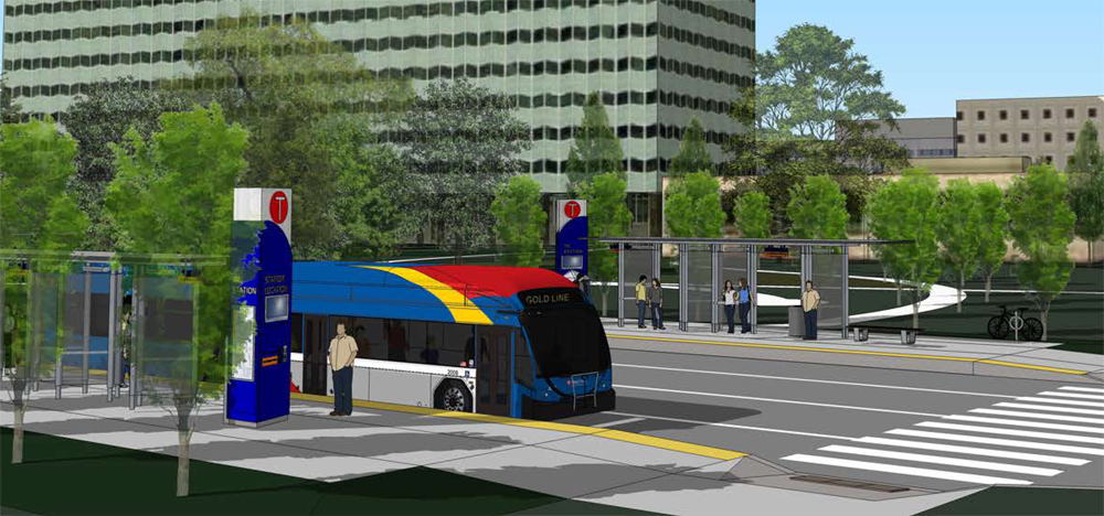 Proposed 3M BRT Station