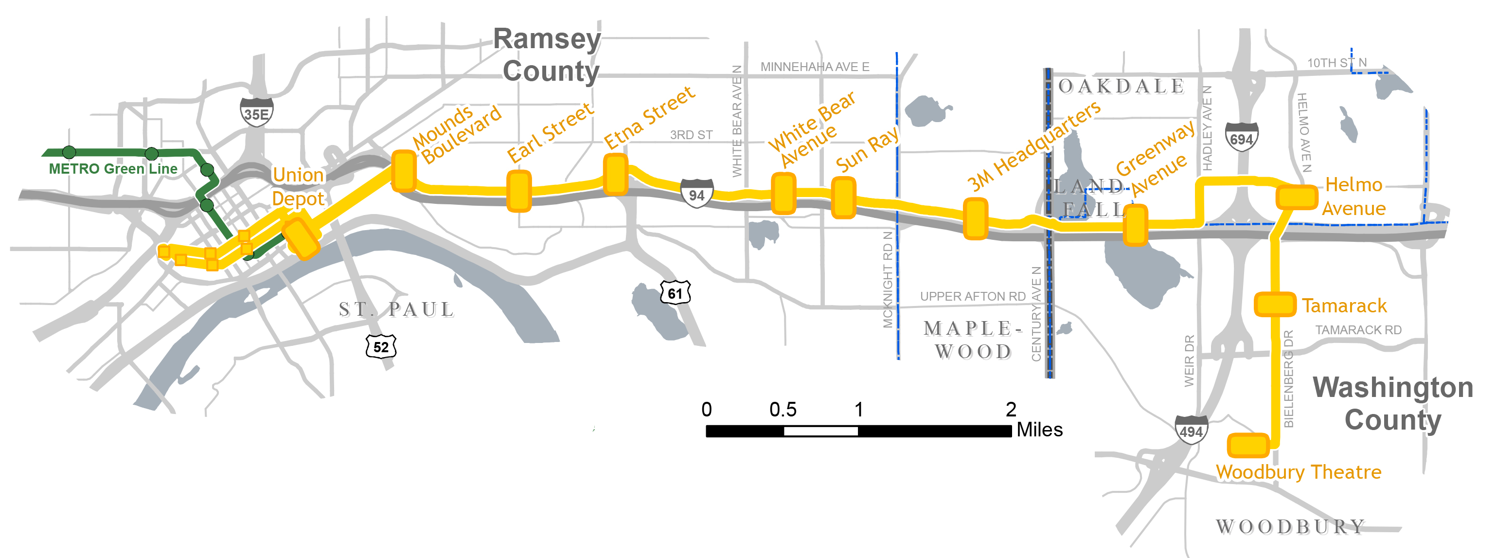 About the project gateway corridor gold line brt overview video publicscrutiny Gallery